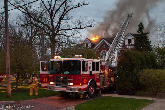 Highland Park House Fire 1414 Sheridan Road 5-9-11