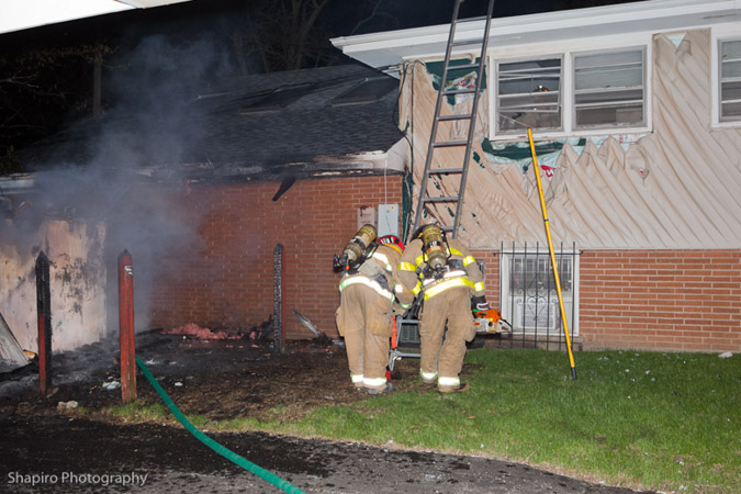 Buffalo Grove Fire Department house fire 4-8-12 at 275 W Dundee Road