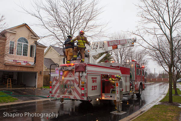 Buffalo Grove Fire Department KME Quint Larry Shapiro photos