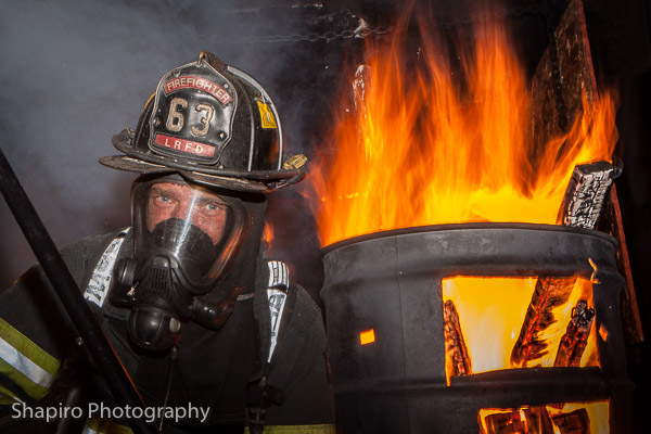 CAFT Center flashover training fire pictures Larry Shapiro shapirophotography.net