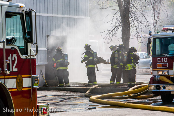 warehouse fire at 725 Landwehr Road in Northbrook 10-10-13 Larry Shapiro photography fire scene images