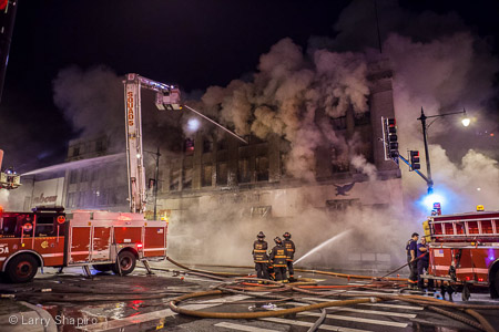 3-11 Alarm fire at 6308 S. Halsted in Chicago 8-27-14 Larry Shapiro photography shapirophotography.net