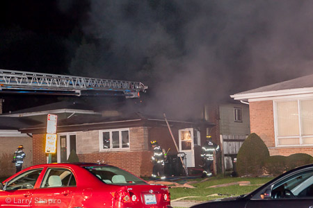 houe fire in Morton Grove 8-28-14 at 5845 Keeney Larry Shapiro photography shapirophotography.net