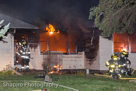 house fire in Prospect Heights IL at 1201 N Stratford Road 11-3-14 Larry Shapiro photographer shapirophotography.net