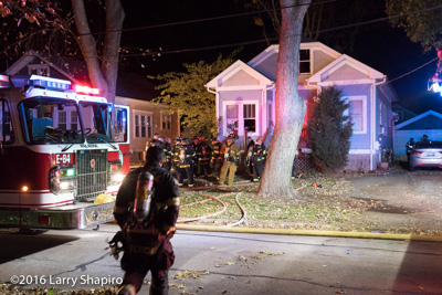 Fatal house fire in Palatine IL 11-10-16 at 308 W Slade Street Larry Shapiro photographer shapirophotography.net