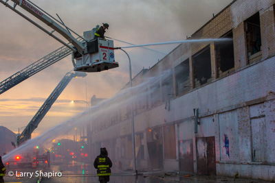 Chicago Fire Department 3-11 Alarm fire at 3323 W Augusta 6-16-17 Larry Shapiro photographer Shapirophotography.net