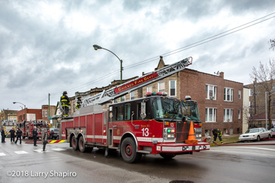 Chciago Fire Department Still and Box Alarm fire at 3132 W Diversey Avenue 2-20-18 fire scene basement fire #CFD #chicagofd #larryshapiro shapirophotography.net Larry Shapiro photographer photos