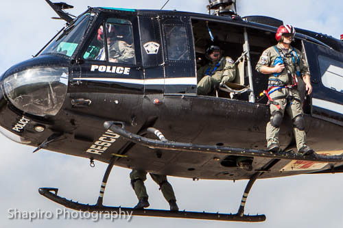 Air One Emergency Response Coalition police helicopter