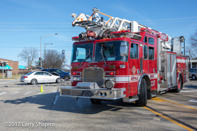 Buffalo Grove Fire Department IL MVA with injuries Lake Cook Road and Arlington Heights Road #larryshapiro shapirophotography.net Larry Shapiro photographer 3-10-17