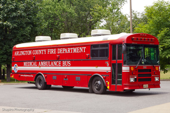 Arlington County Fire Department Mobile Ambulance Bus MAB
