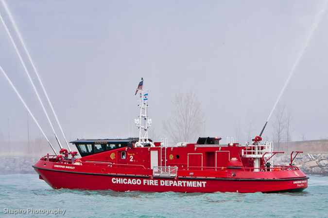 Chicago Fire Boat Engine 2 Christopher Wheatley