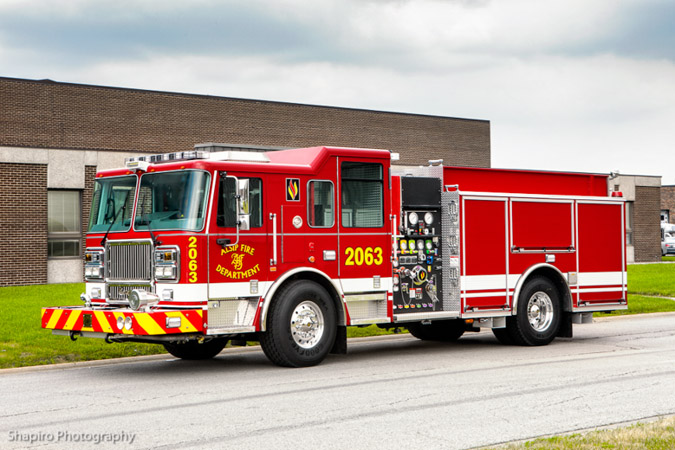 Alsip Fire Department Engine 2063 2012 Seagrave Marauder II