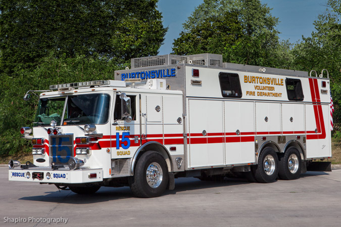 Burtonsville Volunteer Fire Company, fire apparatus fire trucks Montgomery County