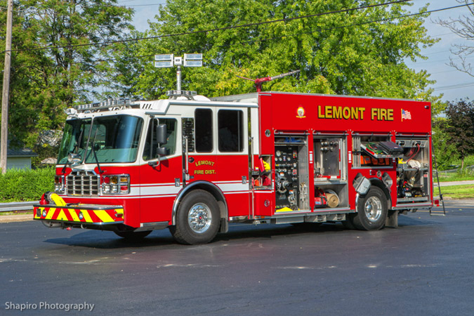 Lemont FPD fire trucks apparatus equipment