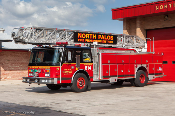 North Palos Fire Protection District Illinois fire trucks and stations