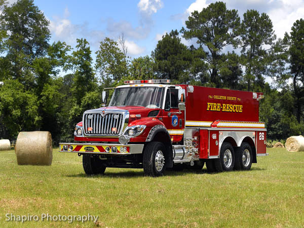 Colleton County Fire Rescue Department fire trucks apparatus E-ONE 3,000 gallon tanker shapirophotography.net