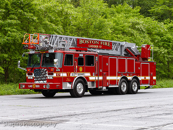 Boston Fire Kme Ladder