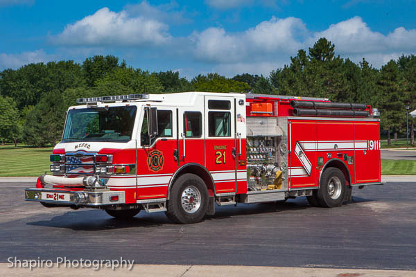 McHenry Township FPD Engine 21 Pierce Impel Larry Shapiro photography shapirophotography.net