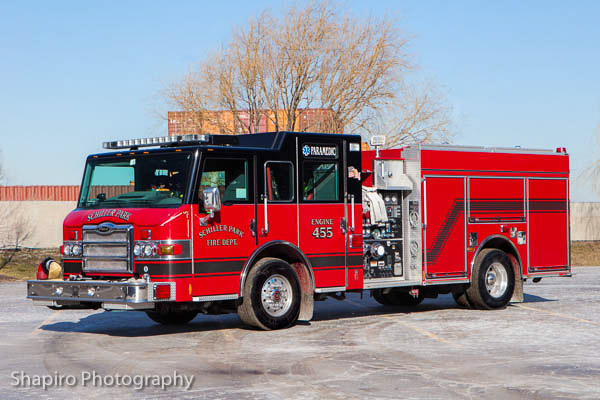 Schiller Park Fire Department truck photos