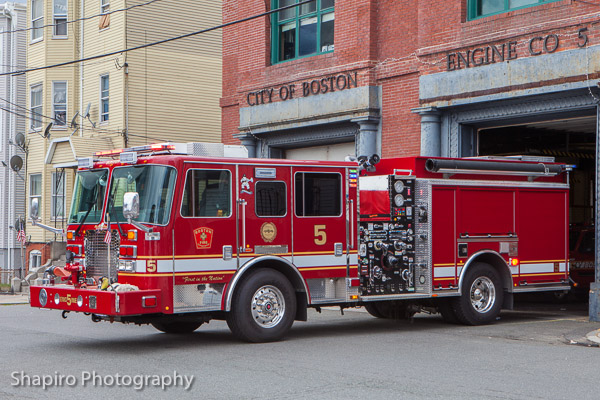 Boston Fire Department Engine 5 KME Severe Service Predator Larry Shapiro photography shapirophotography.net
