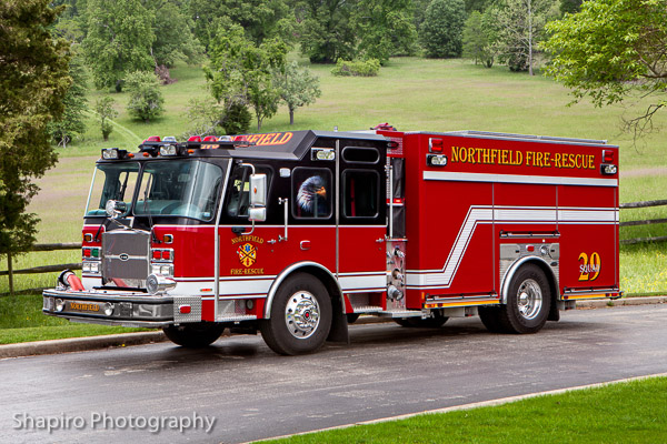 Northfield Fire Rescue Department Squad 29 2013 E-ONE E-Max pumper 1500-