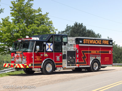 Stewiacke NS Fire Department Engine 1711 - 2015 E-ONE Cyclone II  interior pump Larry Shapiro photographer shapirophotography.net fire truck