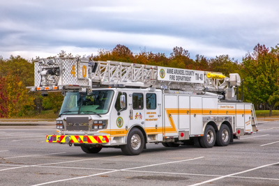 Anne Arundel County Fire Department apparatus