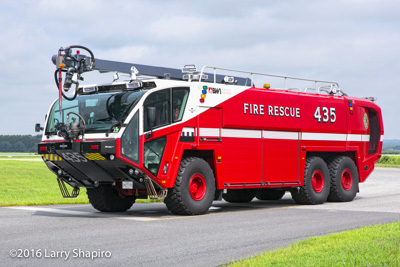 BWI Airport Fire Department 2016 Oshkosh Striker 3000 with Snozzle Larry Shapiro photographer shapirophotography.net airport fire trucks