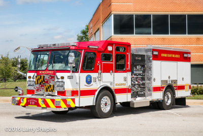 Howard COunty Fire & Rescue Department MD Engine 111 Scaggsville 2016 E-ONE Cyclone II fire engine fire apparatus shapirophotography.net Larry Shapiro photographer