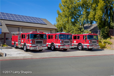 Benicia Fire Department CA fire apparatus Seagrave Marauder II fire engines shapirophotography.net