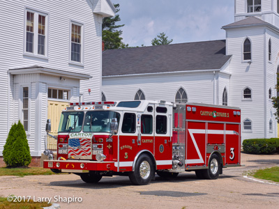 Canton Fire Department MA E-ONE Typhoon e-Max fire engine historic church shapirophotography.net Larry Shapiro photographer #larryshapiro
