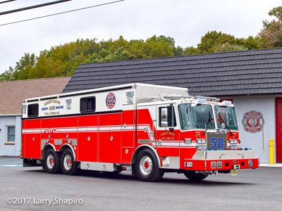 Forest Grove Fire Company Vineland NJ KME Severe Service heavy rescue fire truck #larryshapiro shapirophotography.net Larry Shapiro photographer