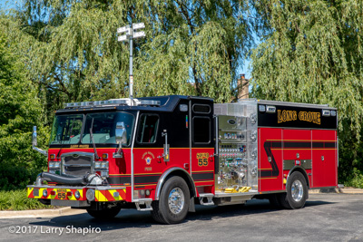 Long Grove FPD Squad 55 fire engine E-ONE Typhoon #larryshapiro Larry Shapiro photographer shapirophotography.net
