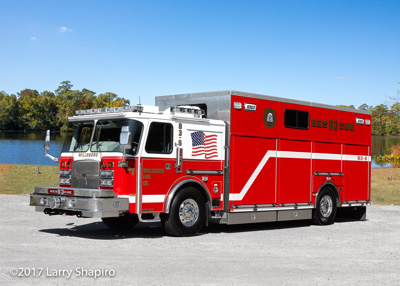 Millsboro Fire Rescue DE Rescue 83 E-ONE Cyclone II heavy rescue squad #larryshapiro shapirophotography.net Larry Shapiro photographer