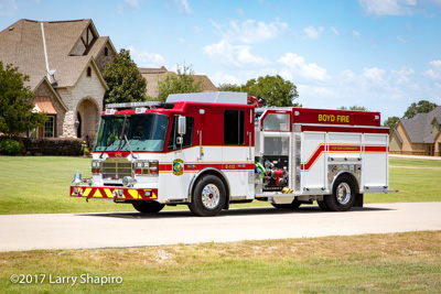 Wise County ESD #1 Boyd Texas Engine 112 Ferrara Cinder fire engine white fire truck Larry Shapiro photographer shapirophotography.net #larryshapiro