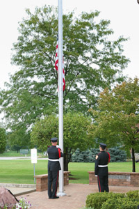 Lincolnshire Riverwoods FPD 9/11 ceremony
