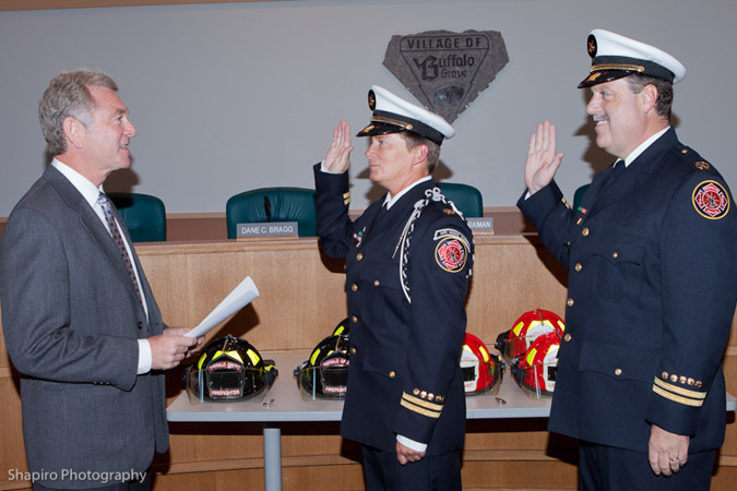 Buffalo Grove Fire department promotion ceremony 9-19-11