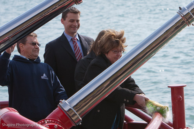 Chicago fire boat dedication Christopher Wheatley