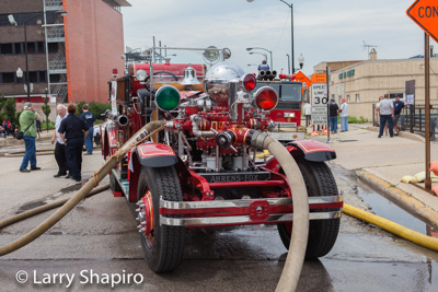 2015 CHicago FD Fire Engine Rally & Swap Meet Larry Shapiro photographer shapirophotography.net 1928 Ahrens Fox fire engine